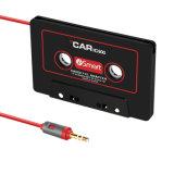 convertor van de Adapter van de Kabel Aux van 3.5mm de Audio voor de Speler van de Band van de Cassette van de Auto