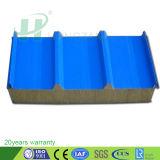 Pannelli a sandwich di alluminio delle lane di roccia per il comitato/strato del divisorio
