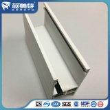 Polvo blanco de la necesidad del cliente que cubre perfil del aluminio del aislante termal