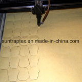 Polyester-Laser geschnittenes Chiffon- Gewebe für Kleider