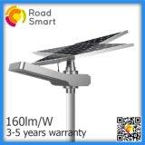 indicatore luminoso solare della strada di 30W 4200lm LED con il comitato di batteria del litio