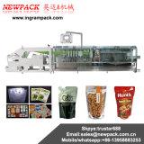 Salsas del anacardo y empaquetadora verticales automáticas del polvo con el pesador de Multihead