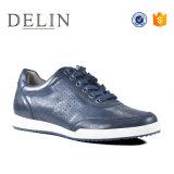 El precio bajo de logotipo personalizado fiable vestido de cuero Zapatos para hombres