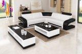 Italian Leisure Leather Divano Home Furniture
