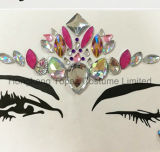 홍콩 황옥 직업적인 피부 안전한 당 눈 스티커 백색은 장식용 목을 박는다 바디 보석 마스크 스티커 (E16)를