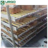 Cremagliera d'acciaio di flusso della scatola del magazzino industriale resistente
