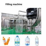 自動ペット瓶ガラスのびんジュースの飲料の注入口の機械装置の熱い満ちる水差しのプラントパッキングライン
