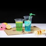 Wegwerfzoll gedrucktes freies Milchshakesmoothie-Saft-Plastikcup