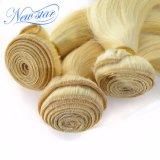 Nuovi capelli umani biondi non trattati del fornitore 100% Remy dei capelli del commercio all'ingrosso della stella