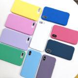 TPU Sinbeda étuis en silicone pour iPhone de couleur X Xs Max xr en silicone de haute qualité en verre dépoli couvercle antichoc pour iPhone 7 8 6 6S Plus