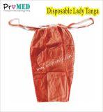 USE UM ÚNICO biodegradáveis sanitárias SMS/PP/Isqueiros Nonwoven G-string