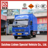 La lumière Dongfeng Van chariot 120HP Boîte de camion Cargo Truck