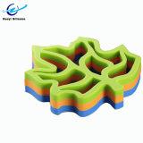 Custom Maple Leaf forme Trivet tapis en silicone de résistance à la chaleur