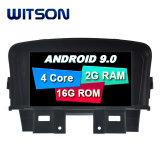 Processeurs quatre coeurs Witson Android 9.0 DVD de voiture GPS pour Chevrolet Cruze 2g la mémoire RAM DDR3