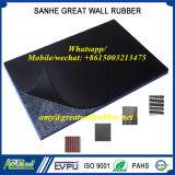 Ткань впечатление покрытие EPDM/неопреновые/SBR Лист резины с ткань вставки