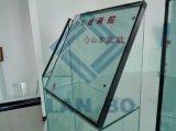 Vidro temperado isolado com espaçador de alumínio
