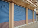 Durable Prepainted Steel Window Roller Shutters with Electric Motor