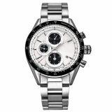 2017 Couros&Tira de aço inoxidável relógios homens Montre Home