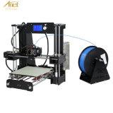 2016 비용 효과적인 개정하는 버전 Anet A6 Fdm 2 바탕 화면 DIY 3D 인쇄 기계