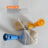 F-08 Decorar hardware Herramientas de mano de pintura de mango de plástico Brocha de cerdas de flexión