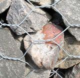 de 10X12cm Gegalvaniseerde Rockfall Draad Gabion van de Kooi van de Steen van de Draad Gabion/(xm-26)