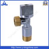 Válvula de agulha de ângulo de latão para máquina de lavar roupa (YD-5016)