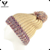 Scaldino e cappello del collo dell'Set della signora Winter Acrylic Knitted