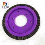 Violet et différentes formes de la plaque de la brosse de disque pour les textiles