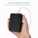 Haute qualité Noir doigt sans fil solaire réchauffe-mains Banque d'alimentation pour l'iPhone x