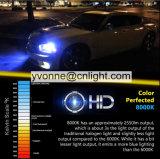 Купите СПРЯТАННЫЙ ксеноним автомобиль набора 55W автоматическим шариком H1 H3 H7 H8 H9 H11 9005 фары 9006 4300K 5000K 6000K 8000K 10000K 12000K