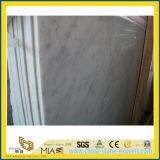 Сляб Bianco Carrara белый мраморный для настила