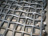 Mineのための重い65mn Crimped Steel Wire Mesh Screen