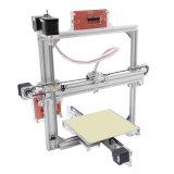 Stampante da tavolino 3D del blocco per grafici del metallo di DIY con affissione a cristalli liquidi ed i formati facoltativi