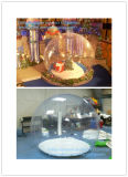 Bola de neve transparente inflável transparente para venda
