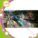 Corrediças longas do parque do Aqua da corrediça de água dos projetos do parque da água