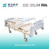 Мода три функции ручной больничной койке с боковых направляющих новой конструкции