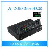 Ricevente satellite gemellare del sintonizzatore HD Linux Enigma2 DVB-S/S2 Digitahi con Hevc/H. 265 Zgemma H5.2s