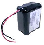 Bateria de lítio recarregável do bulbo do diodo emissor de luz 18650