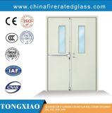 強い90minutes任意選択サイズの定格によって電流を通される鋼鉄防火扉、カラー