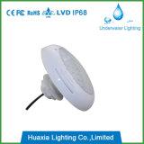 260 mm de diâmetro pequeno LED de isolados de resina Lâmpada Piscina
