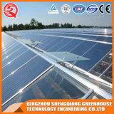 Landwirtschafts-Stahlkonstruktion-Aluminiumprofil-Polycarbonat-Blatt-Gewächshaus