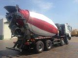 China Sinotruk HOWO Mixer Truck, concreto misturador de trânsito