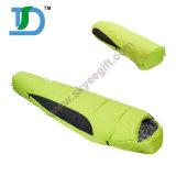 専門職のガチョウのミイラの形のキャンプの寝袋
