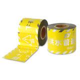 De Gele en Zwarte PE Band van uitstekende kwaliteit van de Voorzichtigheid