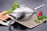 18/10 Wok Cookware нержавеющей стали китайских варя сковороду (SX-WO32-17)