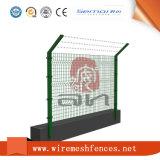 Rete fissa del ferro ricoperta PVC del reticolato di saldatura per obbligazione