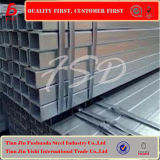 Warm gewalztes quadratisches Rohr-weißes Stahlrohr Q235
