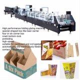 Verificación automática de la carpeta Gluer pegada de la máquina para cartones y cajas (GK-1100GS)