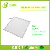 18W/24W/40W/48W em alumínio branco teto rebaixado na luz de tecto LED de painel plano