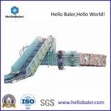 Halb-Selbsthorizontale hydraulische Schrott-Ballenpresse für Altpapier-Pappe